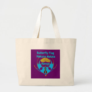 Lovely Butterfly Large Tote Bag