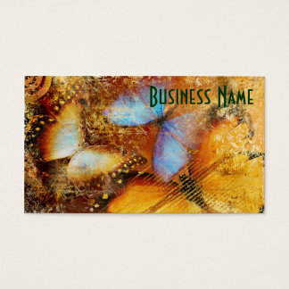 Lovely Butterfly Pattern Business Card