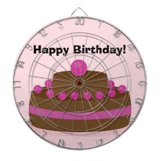 Lovely cake dart board