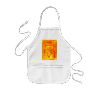Lovely Cat Kids' Apron