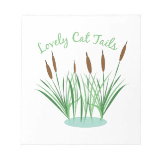 Lovely Cat Tails Note Pad