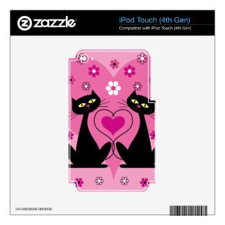 Lovely Cats iPod Touch 4G Skin