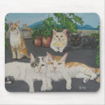 Lovely Cats Mouse Pad