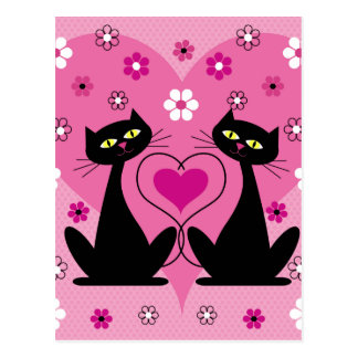 Lovely Cats Postcard