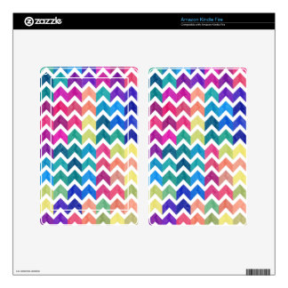 Lovely Chevron Decal For Kindle Fire