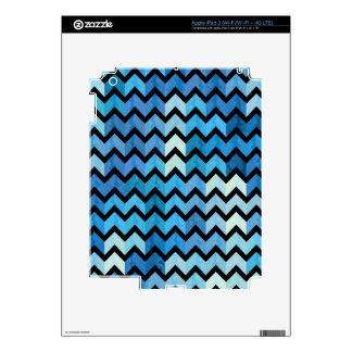Lovely Chevron III iPad 3 Decals