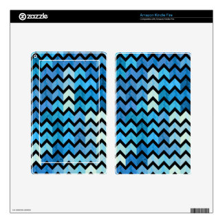 Lovely Chevron III Kindle Fire Decals