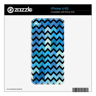 Lovely Chevron III Skin For iPhone 4S