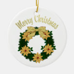 Lovely Christmas Holiday Wreaths - Customize Christmas Tree Ornaments