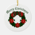Lovely Christmas Holiday Wreaths - Customize Ornaments