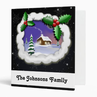 lovely Christmas memories Holiday Binder