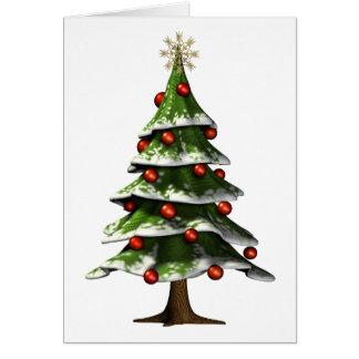 Lovely Christmas Tree Card
