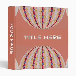 lovely circle abstract binder