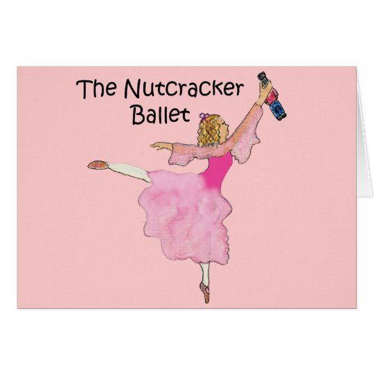 Lovely Clara and her Nutcracker Card