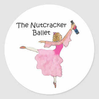 Lovely Clara and her Nutcracker Stickers