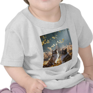 Lovely Collie Dog Tee Shirts