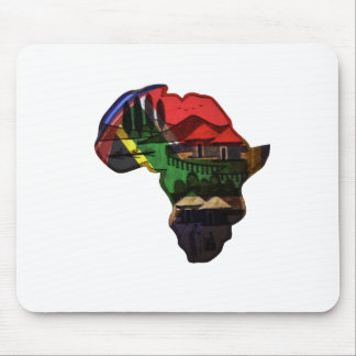 Lovely Colorful African Map design Mouse Pad