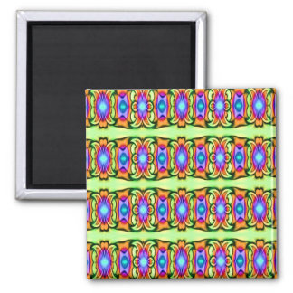 lovely colorful pattern magnet