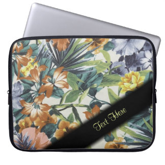Lovely Colors Floral Laptop Sleeve