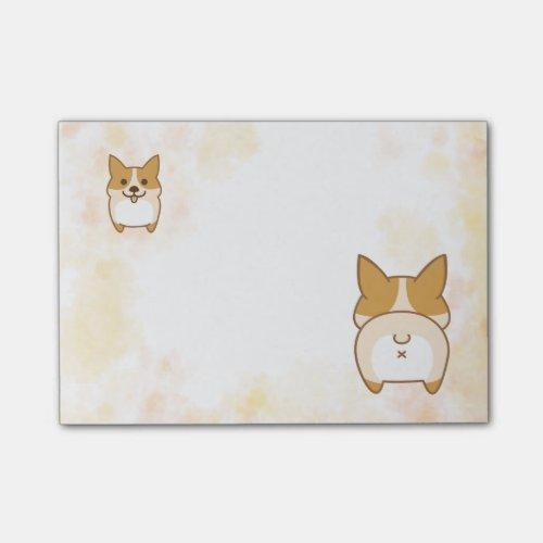 Lovely Corgi Butt Notes