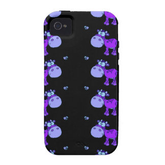 Lovely Cows Blue (C) Vibe iPhone 4 Cover