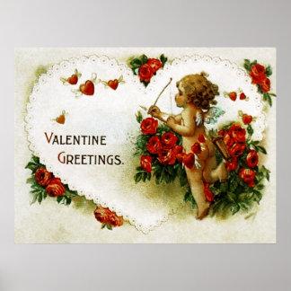 Vintage Valentine Posters Zazzle