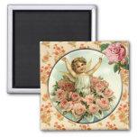 Lovely Cupid Vintage Victorian Custom Magnet