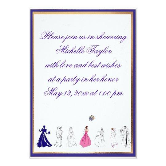 Lovely Customizable Bridal Shower Invitation