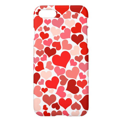 Lovely Cute Hearts Texture iPhone 8/7 Case