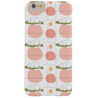 Lovely Cute Sleeping Cats Pattern Unique Barely There iPhone 6 Plus Case