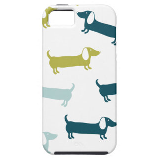 Lovely dachshunds in great colors iPhone SE/5/5s case