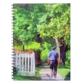 Lovely Day for a Walk Spiral Note Book