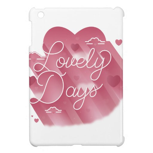 Lovely Days iPad Mini Case