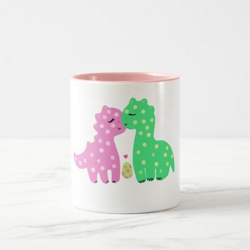 """Lovely Dinos"" Mug"