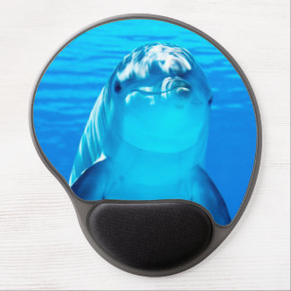 Lovely Dolphin Underwater Sea Life Gel Mouse Pad