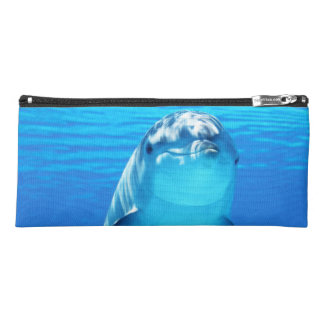 Lovely Dolphin Underwater Sea Life Pencil Case