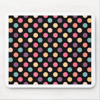 Lovely Dots Pattern XII Mouse Pad