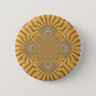 Lovely Edgy  amazing symmetrical pattern design Pinback Button