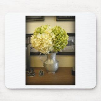 Lovely Elegant Hydrangeas in Vase Mouse Pad