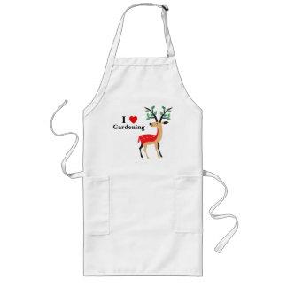 Lovely Elk / Reindeer Christmas | I Love Gardening Long Apron