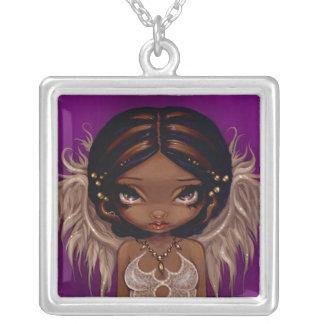 Lovely Eyes NECKLACE angel fairy pendant