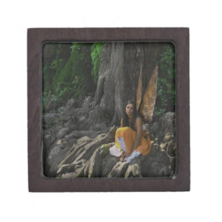Lovely Fairy by the Water Gift Box Premium Keepsake Boxes