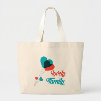 Lovely Family outdoor Costumes Large Tote Bag