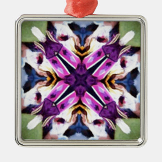 Lovely Feather Dancer Kaleidoscope Christmas Ornaments