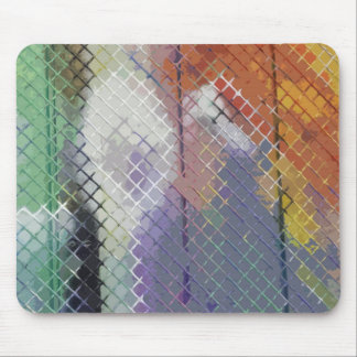 Lovely Fence Mouse Pad