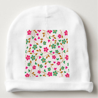 lovely floral 415A (I) Baby Beanie