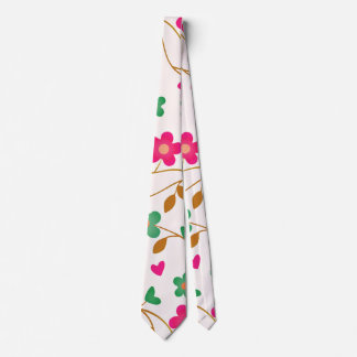 lovely floral 415A (I) Neck Tie