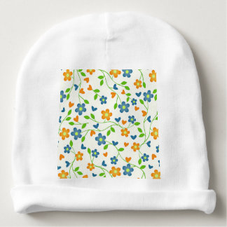 lovely floral 415C (I) Baby Beanie