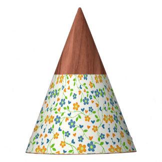 lovely floral 415C (I) Party Hat