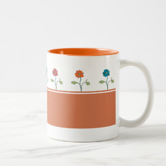 Lovely floral coffee mug